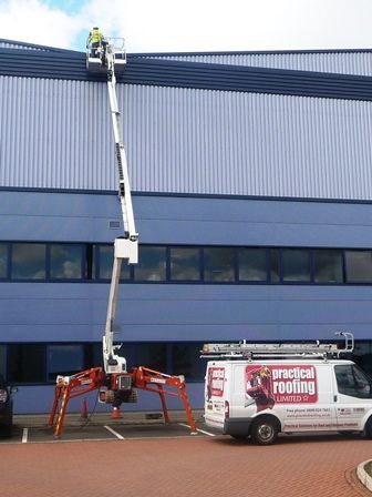 High Level Access Equipment by Roofing Gloucester